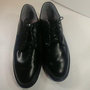 Bates Uniform Footwear 10.5 D Leather Vibram Soles
